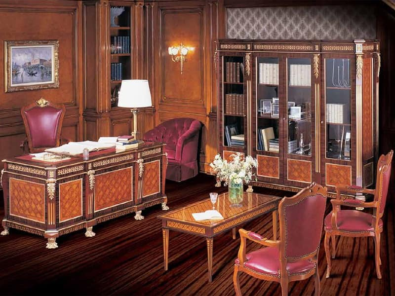 Art 2071 scrittoio legno uffici idfdesign for Bellotti arredamenti