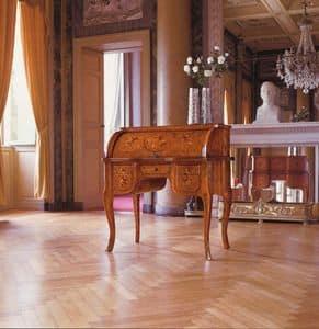 Art. 929, Trumeau in legno con piano ribaltabile