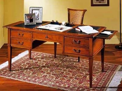 Scrittoio legno scrivania classica adelaide - Scrivanie legno design ...