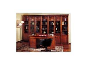 Immagine di Studio classico direzionale - scrivania, scrivanie in stile