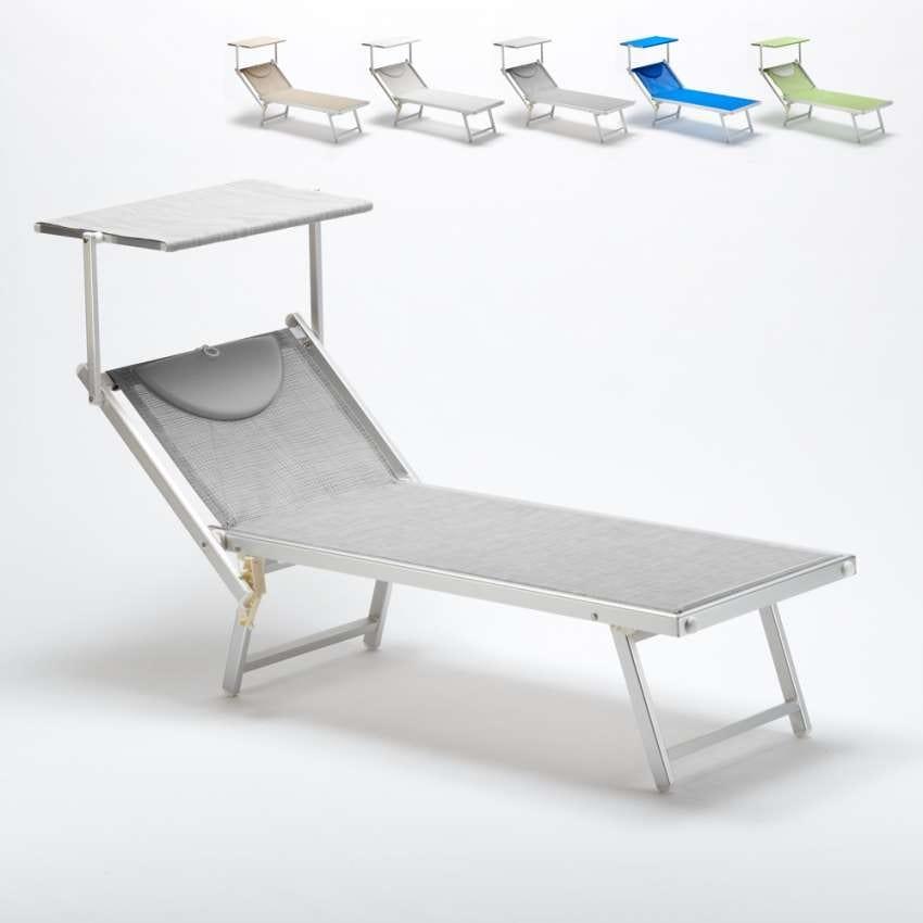Sdraio con tettuccio per spiagge piscine e hotel idfdesign for Sedute per piscine