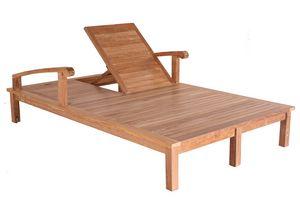 Saint Laurent 0514, Lettino doppio in legno, regolabile