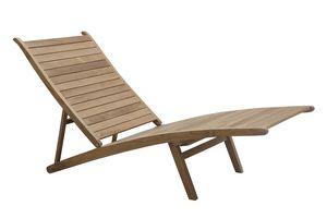 Savana 0512, Sdraio in legno di teak ripiegabile