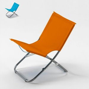 Sedia mare spiaggia pieghevole leggera spiaggina portatile RODEO - RO600OXF, Leggera sedia da mare e piscina