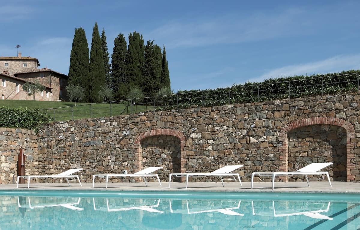 Lettino prendisole in alluminio per piscine e spiagge for Sedute per piscine