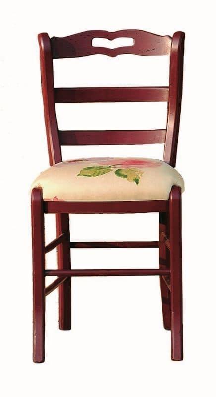 Valérie BR.0202.T, Sedia con sedile in tessuto