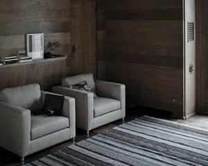 Mini G poltrona, Poltrona da salotto o sala d'attesa, imbottita