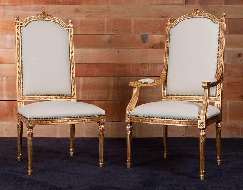 531 alfiere sedia classica di lusso ideale per sala da