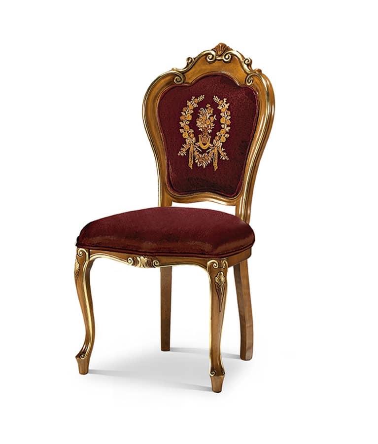 Art 1322 s sedia capotavola sala da pranzo idfdesign - Sedie capotavola ...