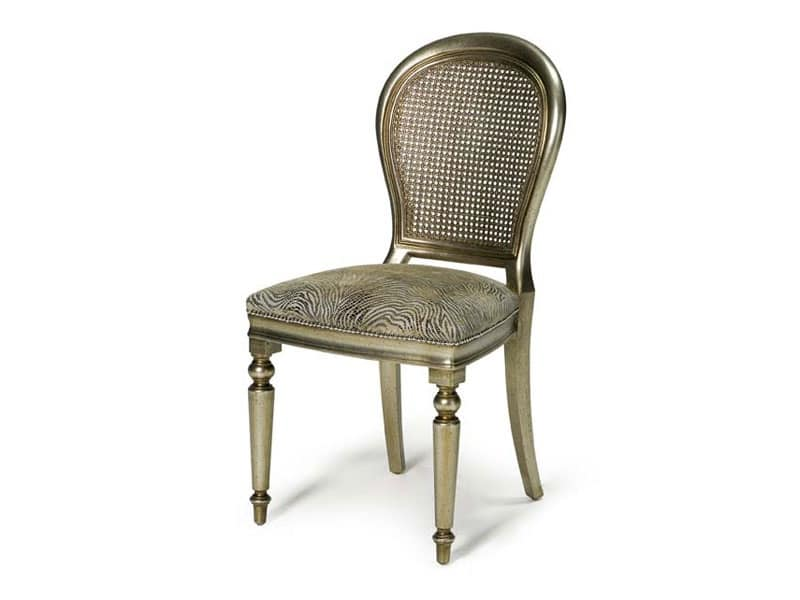 Art.152 sedia, Sedia in stile classico per sala da pranzo