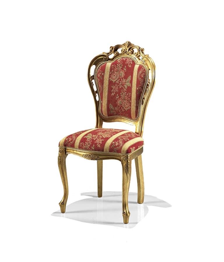 Sedia per sala da pranzo classica idfdesign - Sedie classiche per sala da pranzo ...