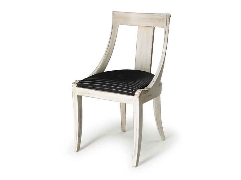 Art.183 sedia, Sedia in stile classico per soggiorni e ristoranti