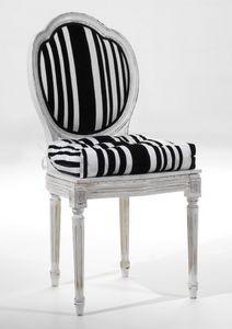 Art. 20807, Sedia con cuscino e schienale tondo