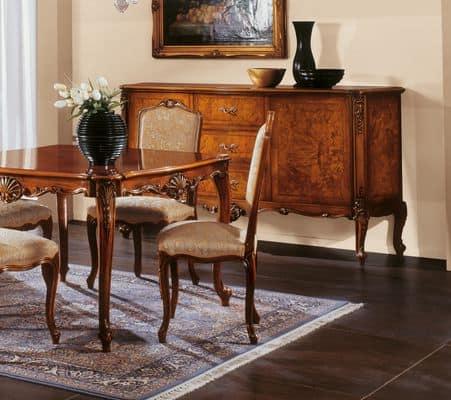 Panche Imbottite Classiche Di Lusso.Sedie Classiche Di Lusso Finest Lusso Tavolo E Sedie Per Sala Da