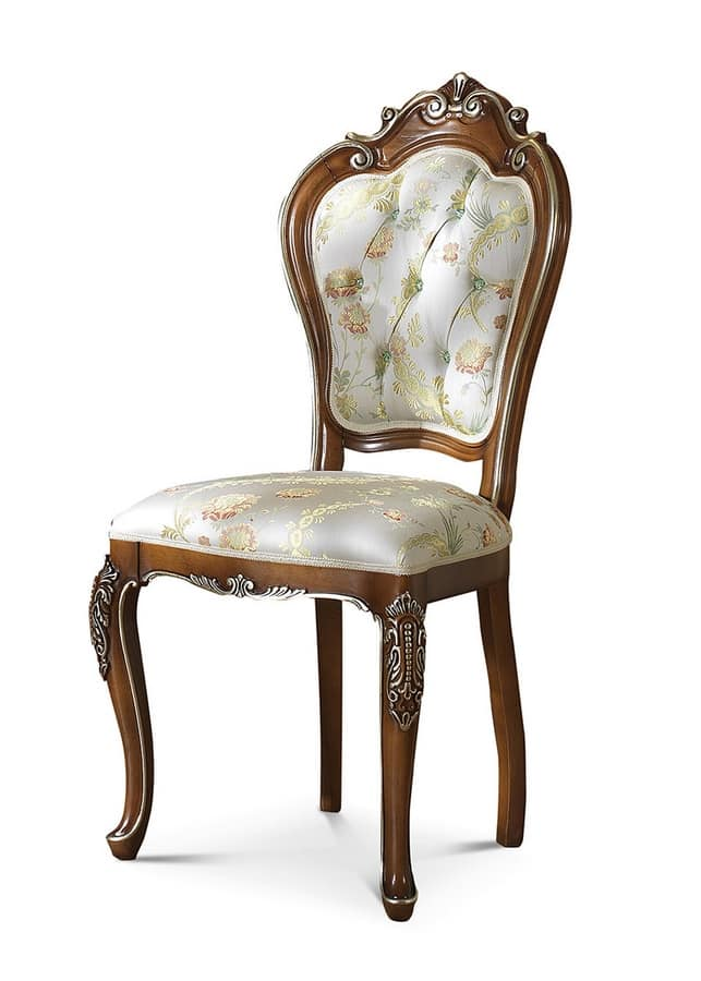 Art 5009 s sedie in stile sedia intagliata sedie for Sedie classiche