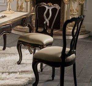 Art. 5096, Sedia con decorazioni artigianali