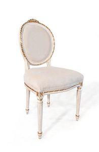 Art. 514, Sedia classica di lusso, stile Luigi XVI, per soggiorno