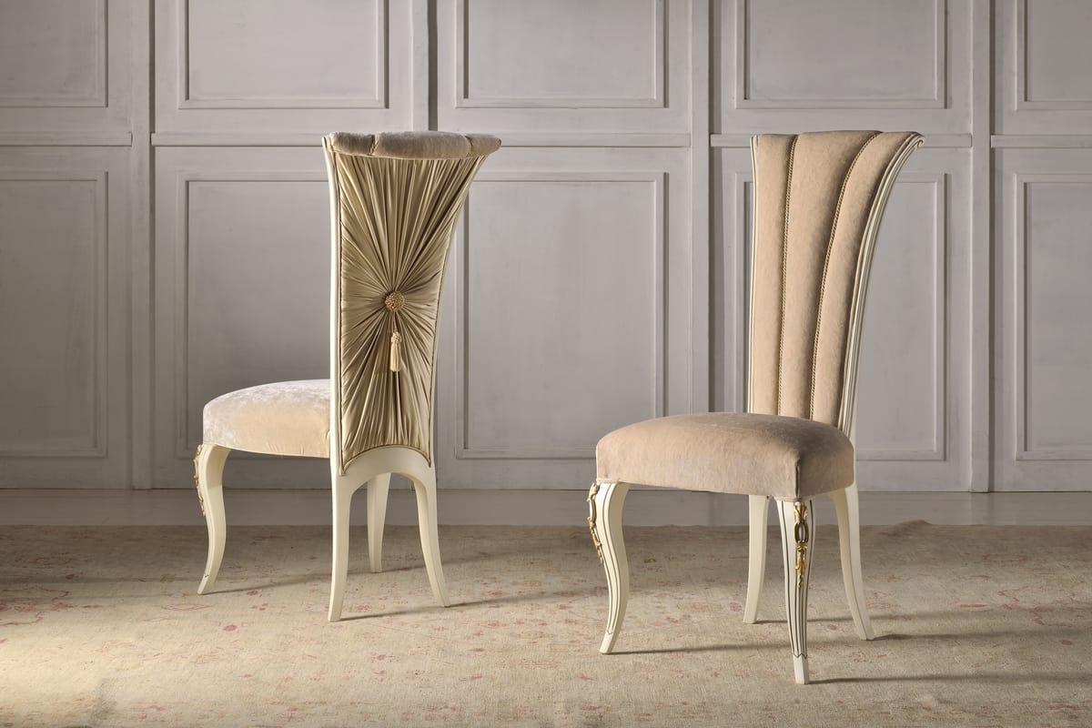 Prestigiosa sedia per sala da pranzo | IDFdesign