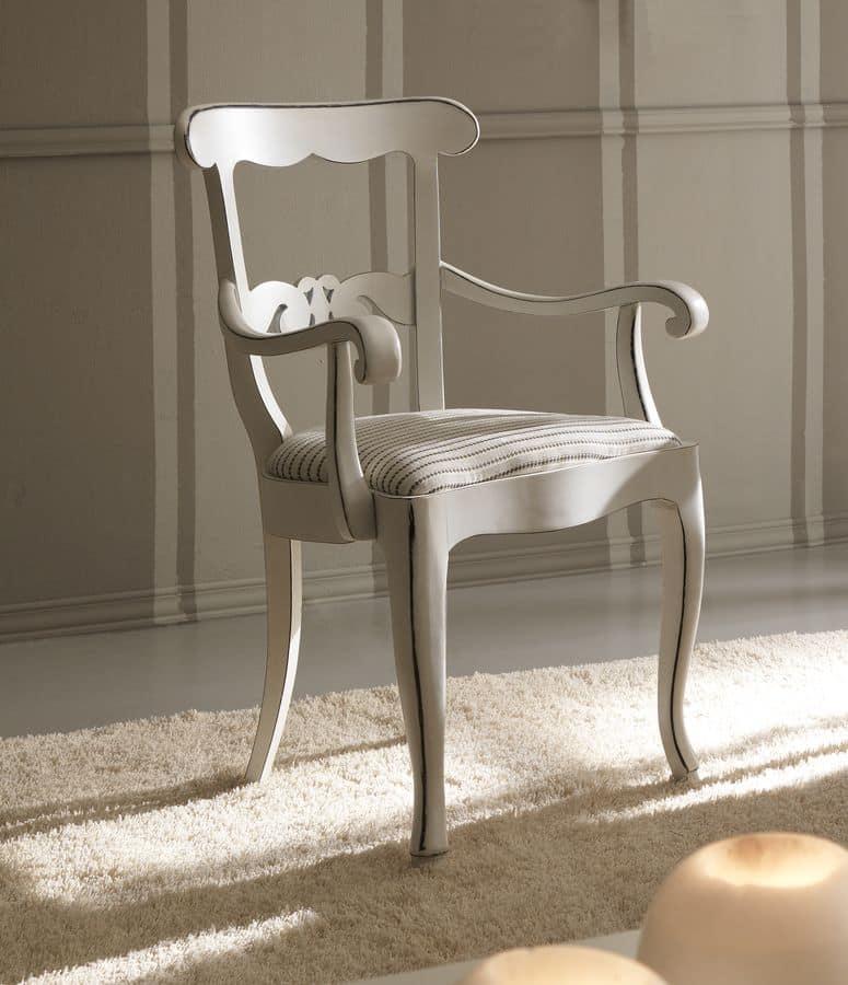 Sedia capotavola in legno dallo stile classico per sala - Sedie capotavola ...