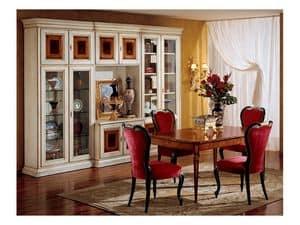 Display sedia 850, Sedia in stile per sala da pranzo