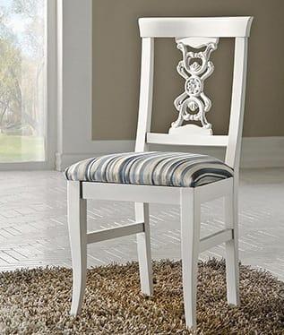 Exclusive sedia, Sedia laccata, in stile classico