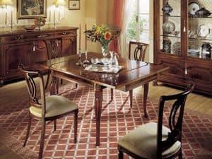GRANDUCATO / Sedia, Sedia classica in legno, per sale da pranzo