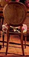 Hepplewhite sedia 760, Sedia da pranzo con seduta imbottita