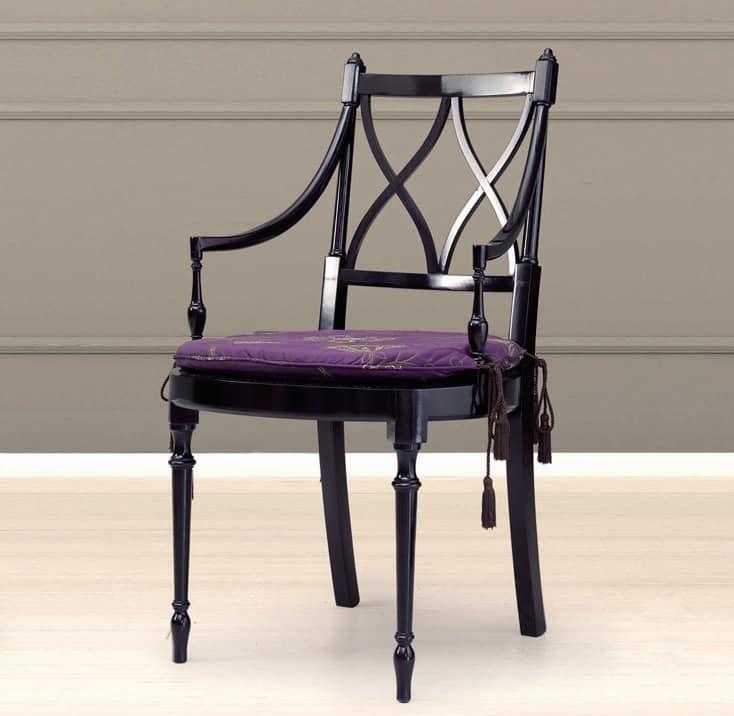 Sedia in ciliegio con seduta in paglia di vienna idfdesign for Sedia design paglia di vienna