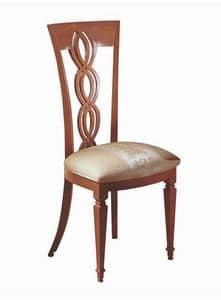 SE28, Sedia in legno, schienale a treccia, per sala da pranzo