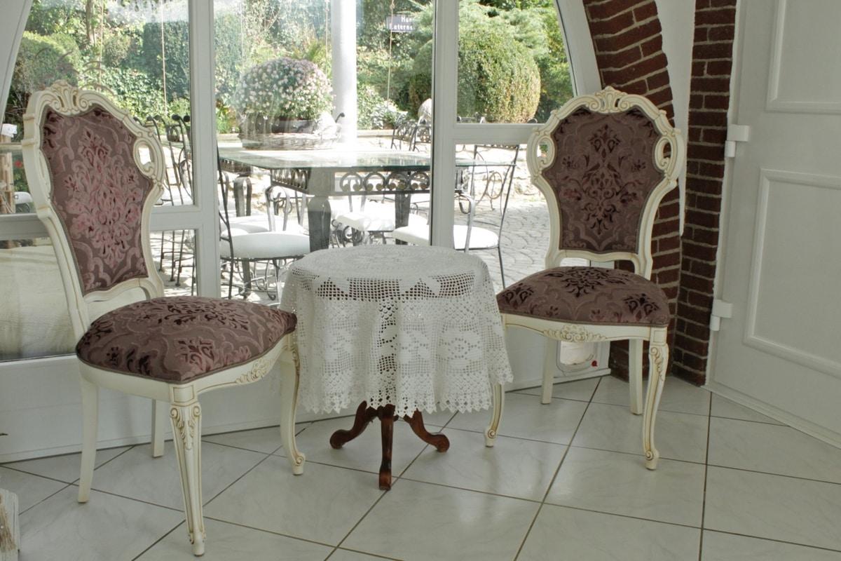 Venere sedia, Sedia in stile new barocco