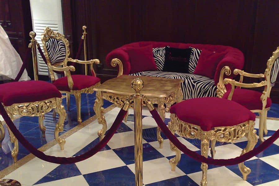 Venezia Living room, Salotto classico di lusso con ...