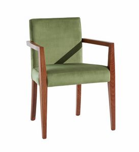 C03BP, Sedia in legno con braccioli