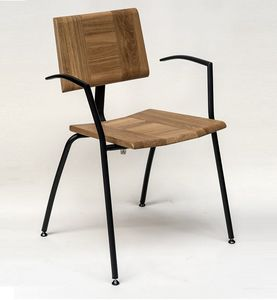 EAGLE B05, Sedia con braccioli, impilabile