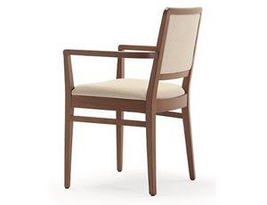 Godiva-P, Sedia con braccioli, per ristoranti e bar
