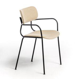 Kiyumi Fabric AR, Versatile sedia con braccioli