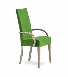 Wiky/BRC, Sedia con braccioli e schienale alto