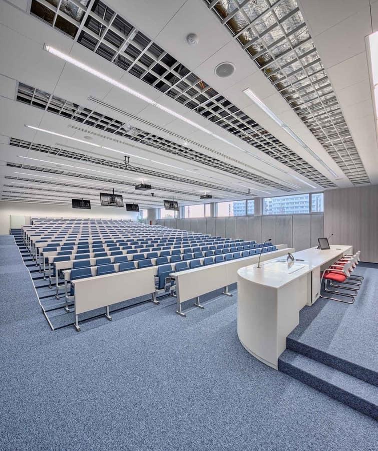 Ateneo 2.014, Sistema sedute per università, in stile moderno