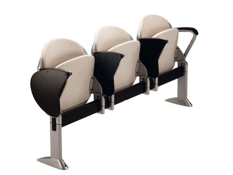 Sedia su barra con seduta ribaltabile per sala conferenza idfdesign