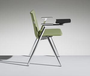 HL3 3, Sedia con tavoletta scrittoio per sale conferenza