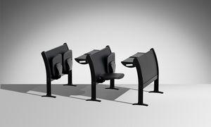 Q3000, Sistema multifunzionale di tavoli e sedie per aule universitarie