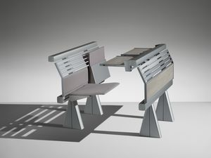 RUNNER, Sistema di sedute e tavoli per universit� e politecnici