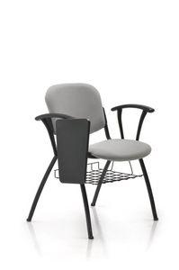 Seating 213, Sedia agganciabile ed impilabile per sala conferenze