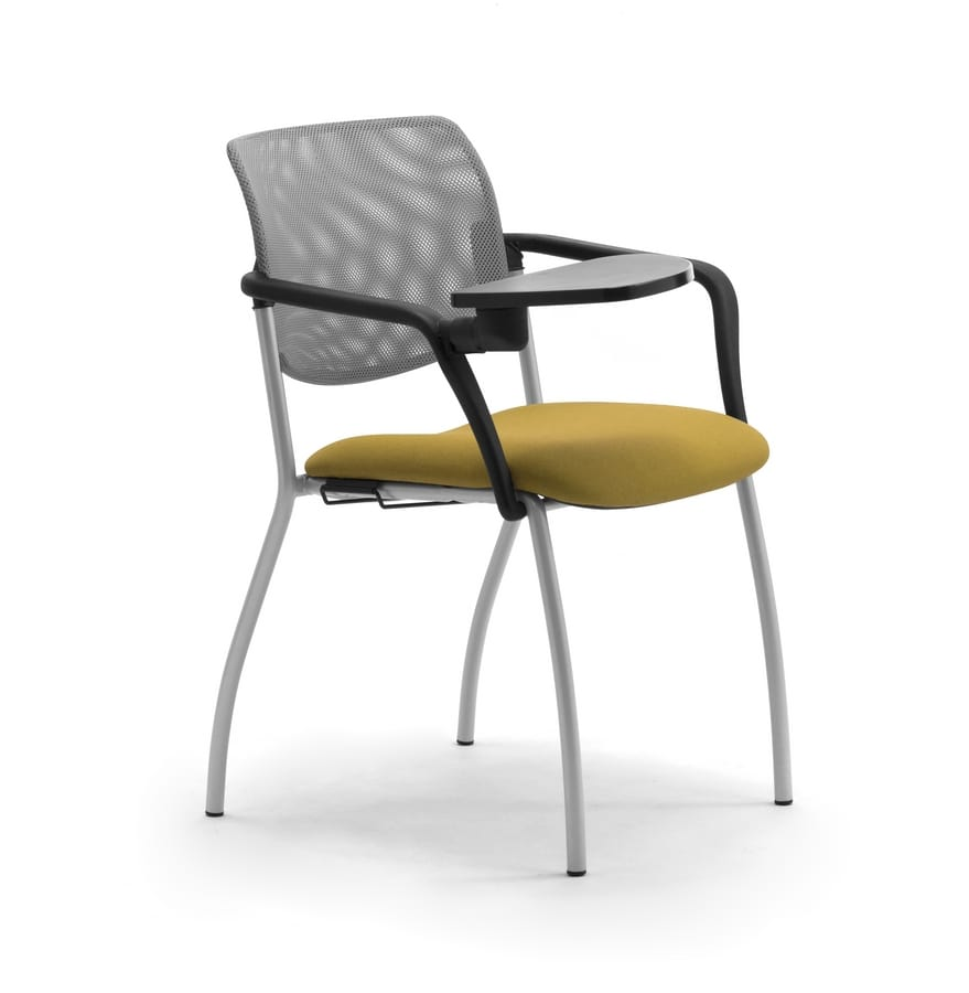 Laila 4G, Sedia con braccioli e tavoletta scrittoio