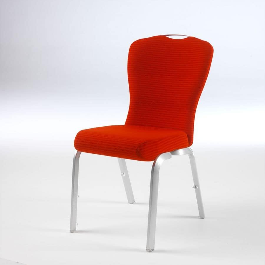 Orvia 12/2T, Comoda e maneggevole sedia per conferenza, attrezzabile con tavoletta