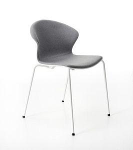Red Hot 4 gambe imbottita, Comoda ed elagante sedia imbottita per conferenza