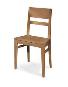Art. 190/S, Sedia in legno dal design semplice