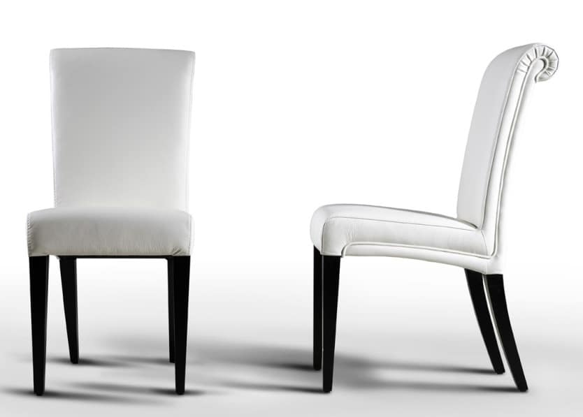 Elegante sedia per sala da pranzo   IDFdesign