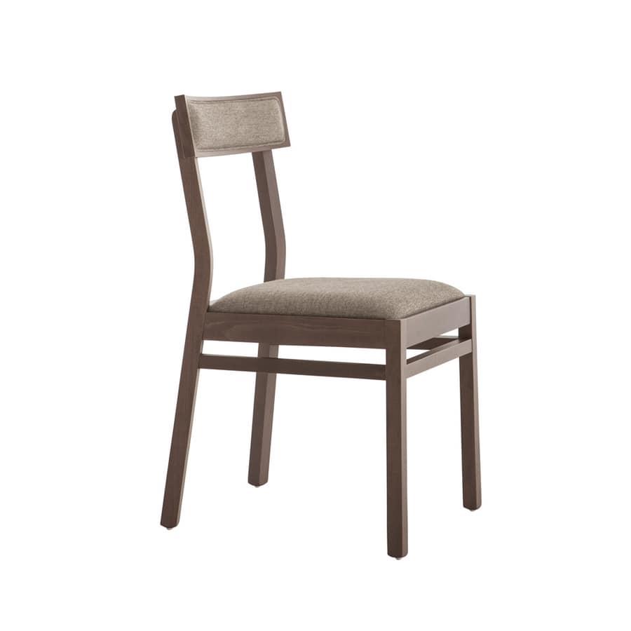 Sedia in legno per uso contract | IDFdesign