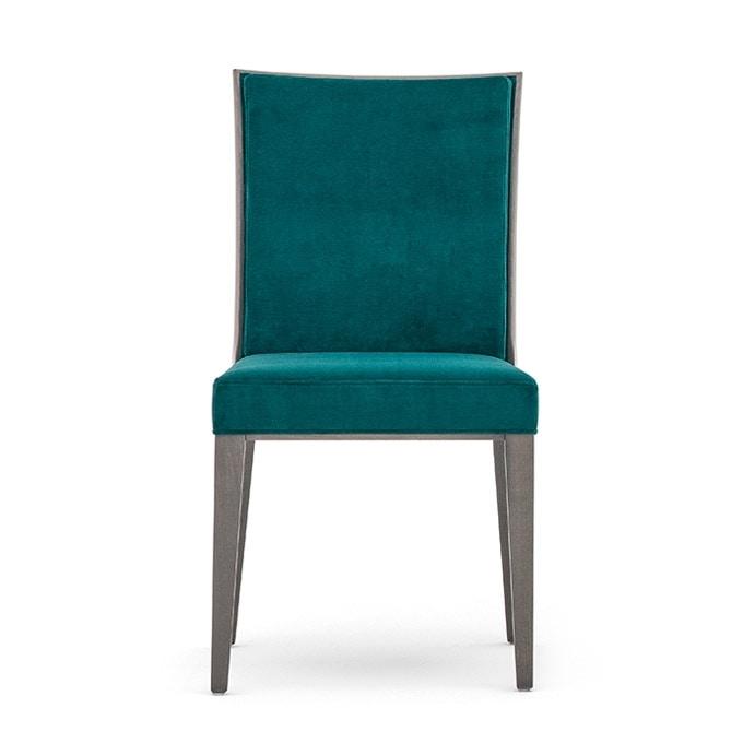Comoda sedia da ristorante imbottita newport 01811 for Sedia design comoda