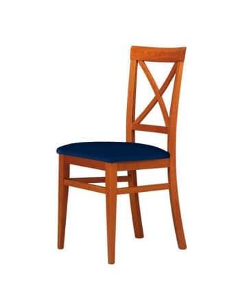 C06, Sedia in legno di faggio, per ambienti contract e domestico